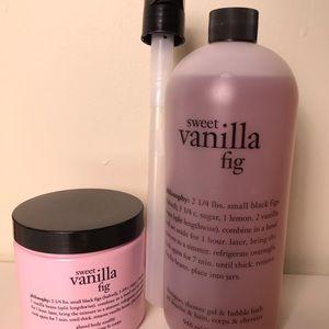 Philosophy Sweet Vanilla Fig Set